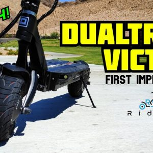 Dualtron Victor First Impressions! New 50 MPH Electric Scooter with Insane Performance