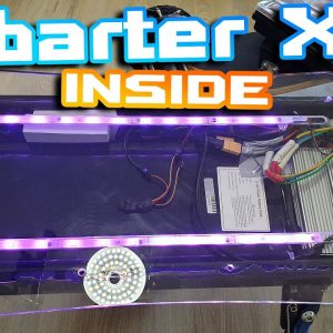 Obarter X5 Inside 🛠 Good Quality Scoot 🚀 I just changed charging port and thats it 🍻🍕