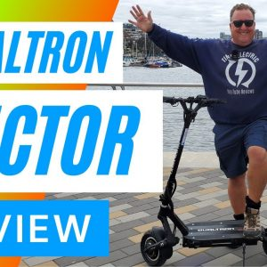 Dualtron Victor Electric Scooter Review - 4K