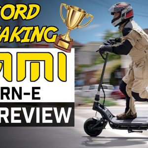 Record breaking NAMI BURN-E Viper vs. 60 mph Wolf King!!!  Best scooter of 2021? Full Review