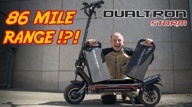 Minimotors Dualtron Storm: The Best Removable Battery Beast Gets 43 Mi Range