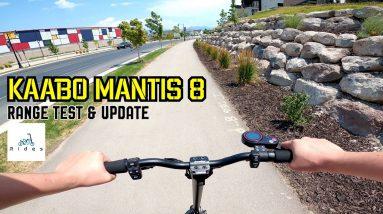 Surprising Range! Kaabo Mantis 8 Range Test and Update