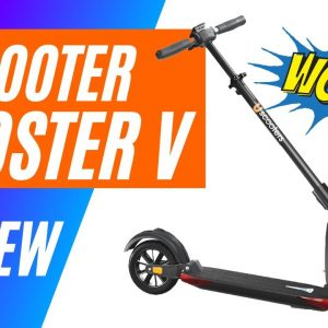Uscooter Booster V Electric Scooter Reivew in 4K