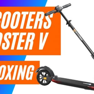 Uscooter Booster V Electric Scooter Unboxing