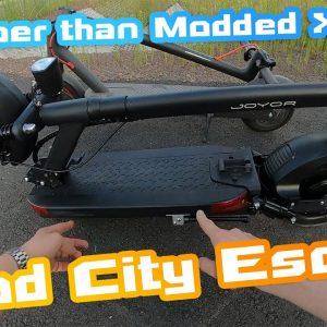 JOYOR Y6 S 🛴 Good city scooter  Speed 52km/h Range 30km+ 🤘 Actually better than Modded Xiaomi Pro