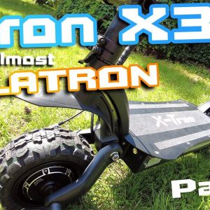 """X Tron X30 Dualtron Copy 🛴 Light Powerfull Escoot 🚀Part 1 """"  My best offroad scoot yet ?! """" 🍕🍻"""