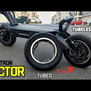 Dualtron Victor Tubeless Tire Conversion + 50 MPH Zoomin' Ride