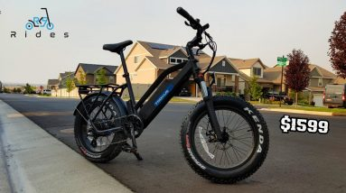 Fast & Fun Fat Tire E-Bike! Troxus SkyHopper Review