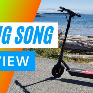 King Song Electric Scooter Review 4K