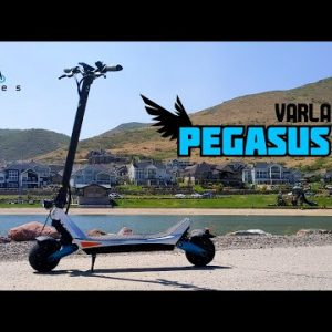 Varla Pegasus First Impressions! 30 MPH Street Scooter for ~$1000