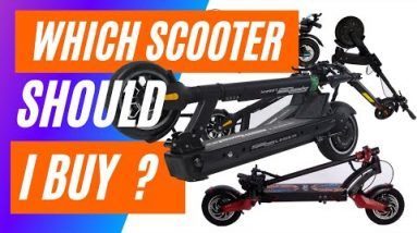 Which Electric Scooter Should Sarah Buy