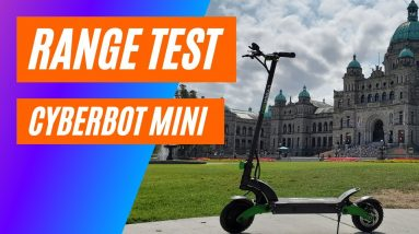 Cyberbot Mini Electric Scooter Range Test