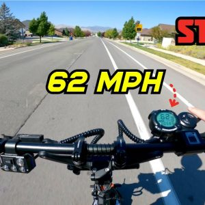 The Fastest I Have Ever Gone on a Scooter! Dualtron Storm 60+ MPH Ride