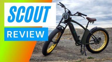 Top Fat Tire Electric Bike 2021 | Best Fat Tire e-Bike 2021 Scout Retro Fat E-Bike - Review