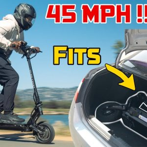 45MPH Electric Scooter That Fits In Your Trunk! | Minimotors Dualtron Victor Review