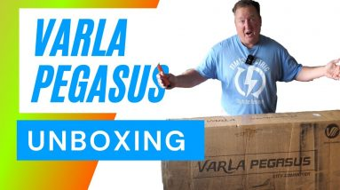 Varla Pegasus Electric Scooter Unboxing