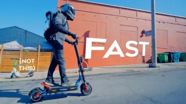 VSETT 11+  Electric Scooter Review   Bigger And Faster!