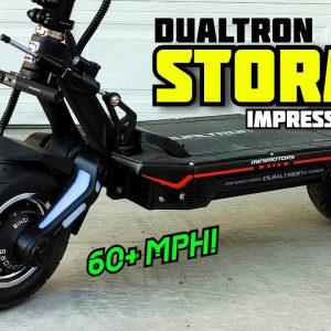 Insane Acceleration, Ludicrous Speed! Dualtron Storm Impressions