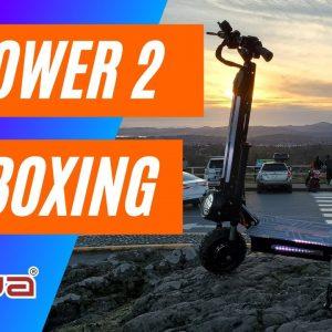 QIEWA Q POWER 2 Electric Scooter Unboxing Filmed in 4K - Dualtron Killer?