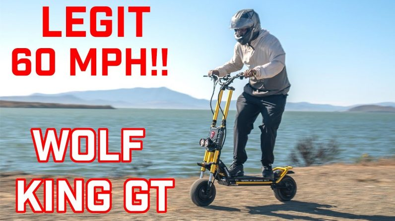 World's Fastest Production Scooter | Wolf King GT review